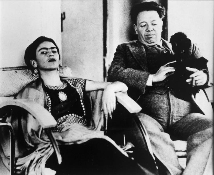A exposição inédita Frida e Diego: um sorriso no meio do caminho está em cartaz no Palacete das Artes - Foto: Divulgação