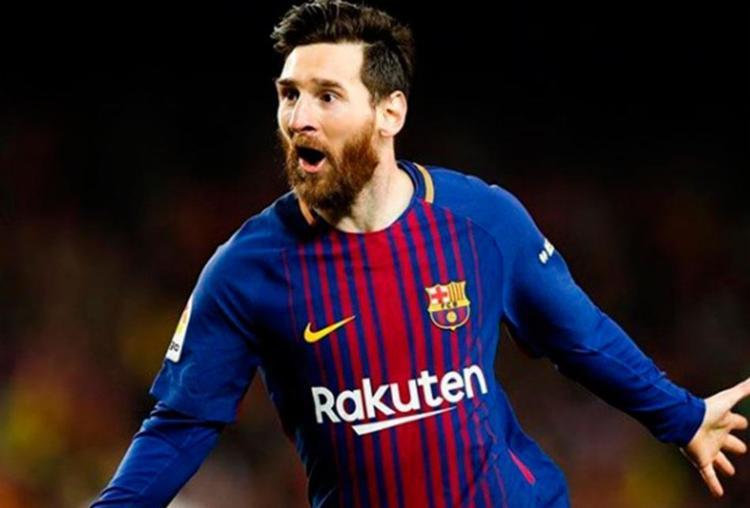 Messi foi autor dos dois gols do Barcelona - Foto: Reprodução   Instagram