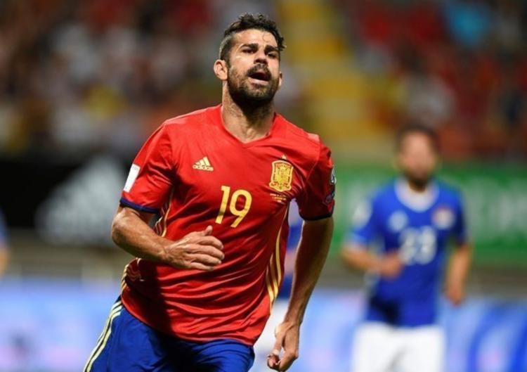 Com nacionalidade brasileira, mas naturalizado espanhol, Diego Costa defenderá a Espanha na Copa da Russia - Foto: Eloy Alonso | Reuters