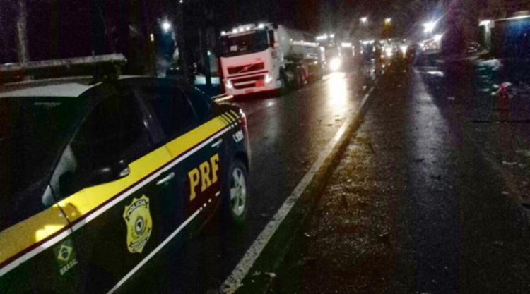 A escolta saiu de Teolândia com destino a Itabuna e Ilhéus - Foto: Divulgação  PRF