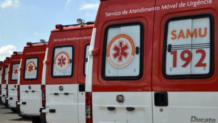 Ambulâncias têm combustível o suficiente para este final de semana - Foto: Divulgação