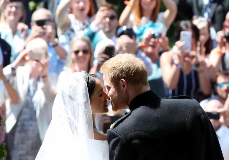 O arcebispo de Canterbury, Junstin Welby, declarou Harry e Markle marido e mulher - Foto: Danny Lawson | AFP