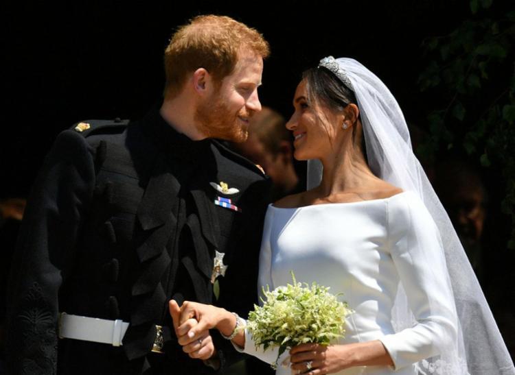 Harry e Markle agora podem ser chamados de duque e duquesa de Sussex - Foto: Ben Birchall | AFP