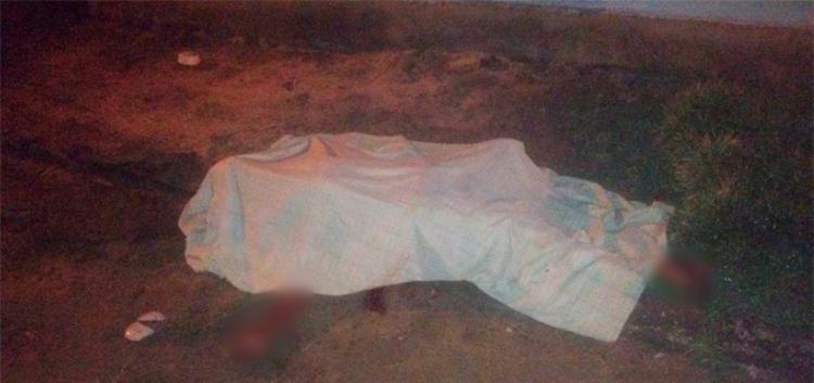 A vítima foi morta com três facadas - Foto: Reprodução | Radar 64