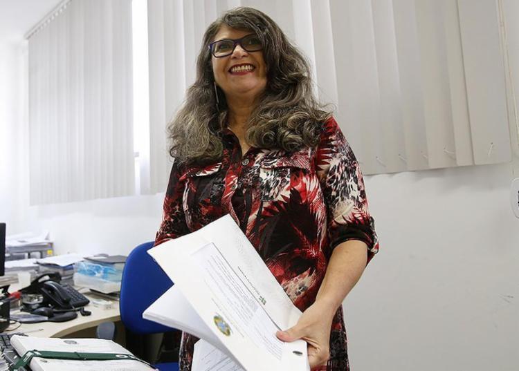 Jacqueline afirma que a formação no IF Baiano vai além da técnica - Foto: Margarida Neide l Ag. A TARDE