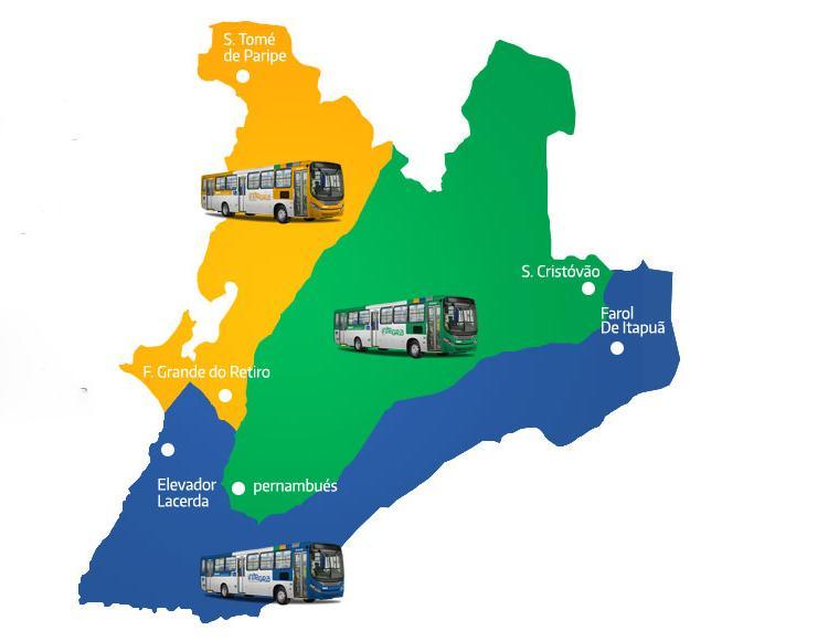 Paralisação parcial afeta os bairros do miolo de Salvador | Divulgação