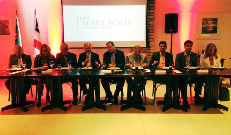 Encontro do Grupo de Líderes Empresariais da Bahia aconteceu nesta segunda, em Salvador - Foto: Aina Soledad | A TARDE SP