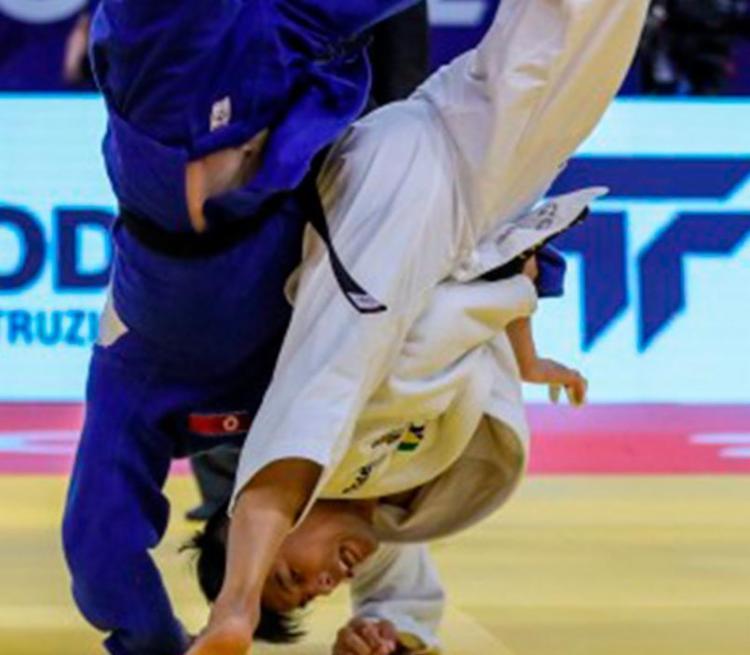 Neste sábado, 26, o judô brasileiro será representado por cinco atletas no evento chinês - Foto: Gabriela Saba   IJF