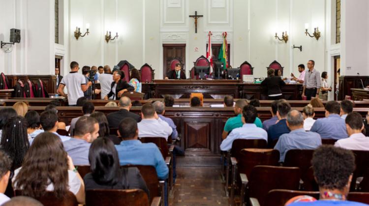 Júri popular ocorreu nesta segunda, no Fórum Ruy Barbosa - Foto: Divulgação | MP-BA