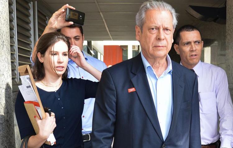 José Dirceu se entregou à Operação Lava Jato nesta sexta - Foto: Reprodução| Agência Brasil
