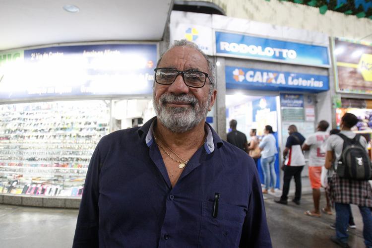 Lázaro Evaristo criou estratégias para ampliar chances de ganhar - Foto: Luciano Carcará l Ag. A TARDE