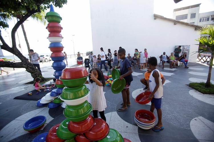 Atividade ocorreu no Largo de Santana, no Rio Vermelho - Foto: Adilton Venegeroles l Ag. A TARDE