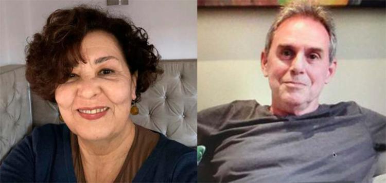 Lurdes Martins e Zwy Goldstein moram atualmente em Portugal - Foto: Arquivo pessoal e Agência Brasil