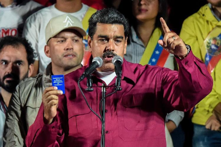 O presidente Maduro chamou os candidatos para um diálogo - Foto: Juan Barreto | AFP