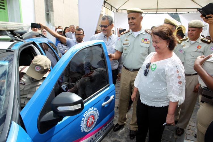 A Ronda Maria da Penha foi inaugurada em Jacobina na sexta-feira (11) - Foto: Divulgação