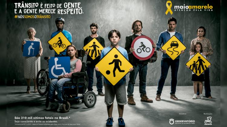 Montadoras se mobilizam em ações para conter os acidentes de trânsito, que fazem 1,3 milhão de vítimas fatais por ano no mundo - Foto: Divulgação
