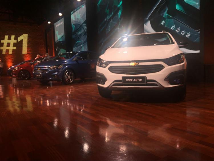 A GM apresentou em SP a linha 2019 do Onix