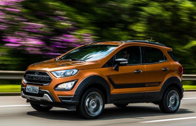 Modelo tem visual diferenciado e câmbio automático - Foto: Ford | Divulgação