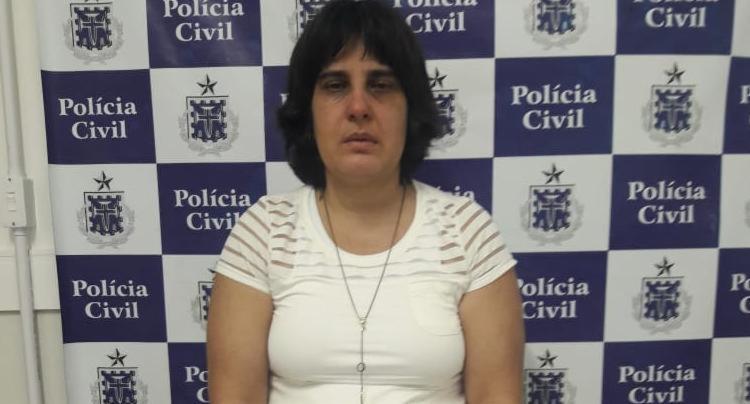 Sheila Guimarães foi presa nesta quarta-feira, 23 - Foto: Divulgação | SSP-BA
