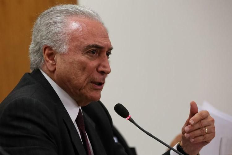Temer foi denunciado duas vezes pelo ex-procurador-geral da República Rodrigo Janot - Foto: Marcos Corrêa l PR Brasília