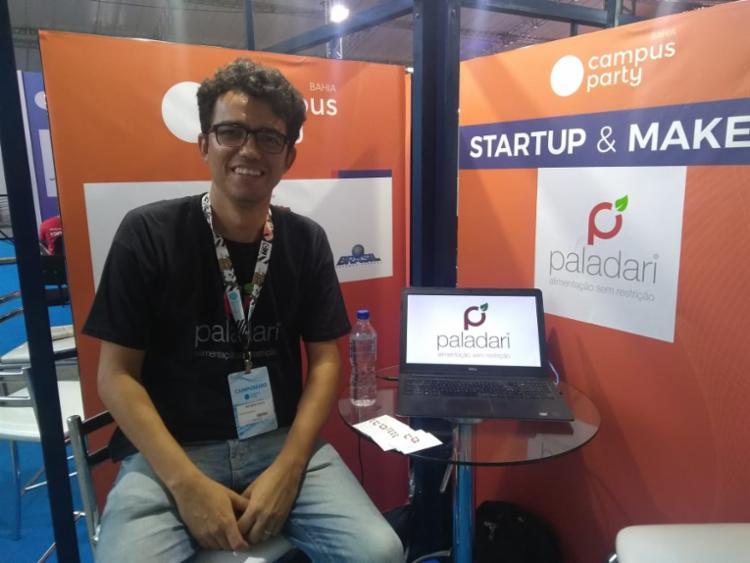 Moises Costa, CEO da Startup Paladari - Foto: Igor Andrade|Ag. A TARDE