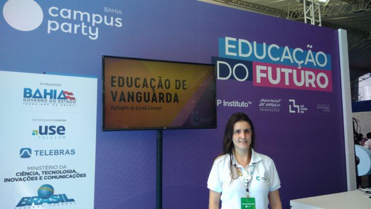Luíza Zaramela - Educadora - Foto: Fagna Santos - Ag. A Tarde