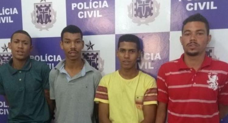 Suspeitos serão encaminhados ao sistema prisional de Itabuna - Foto: Divulgação | Polícia Civil