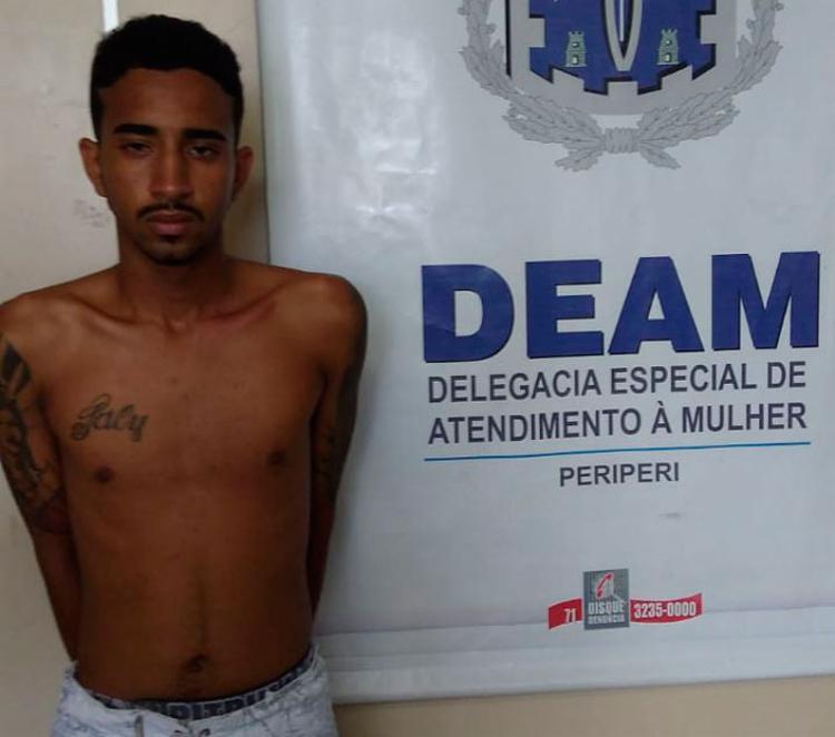 Além do mandado de prisão cumprido, Lucas foi autuado por tráfico de drogas e posse ilegal de arma de fogo - Foto: Divulgação | Polícia Civil