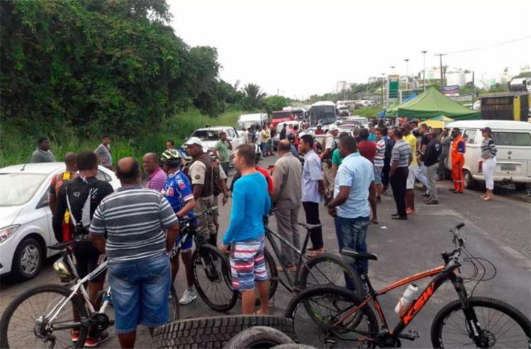 Ato aconteceu nas imediações da refinaria Landulfo Alves - Foto: Reprodução | Madre Notícias