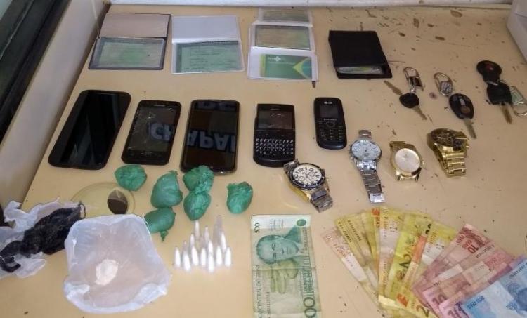 A quadrilha era responsável pelo tráfico de drogas na região - Foto: Divulgação   SSP-BA