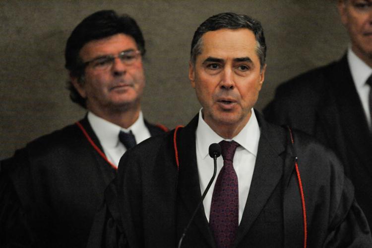Barroso disse que considerava necessário fazer observações sobre a eficiência da justiça trabalhista - Foto: Fabio Rodrigues Pozzebom   Agência Brasil