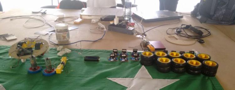 Oficina de robótica no CPBA - Foto: Lorena Souza