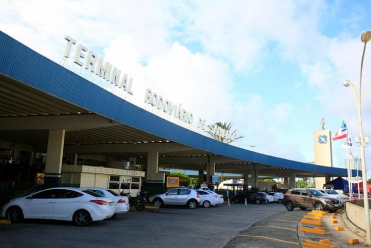 Atual terminal que funciona na região do Shopping da Bahia | Foto: Alessandra Lori | Ag. A TARDE