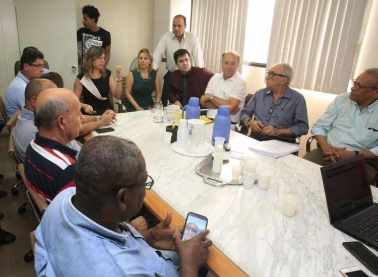 Sem contraproposta do patronato, negociação foi suspensa - Foto: Luciano da Matta | Ag. A TARDE