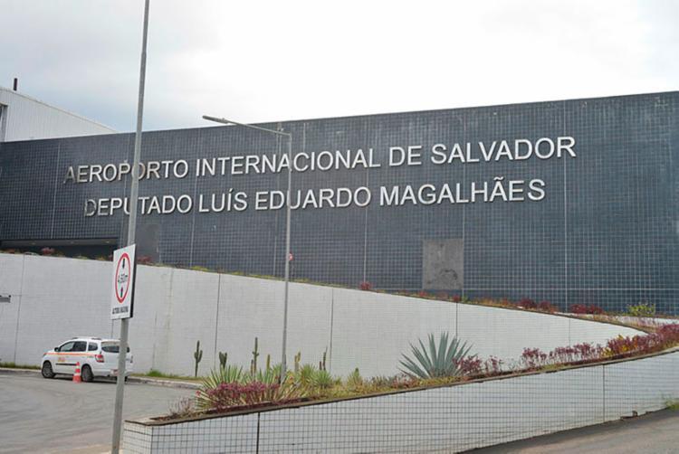 Informação foi divulgada pela empresa que administra o aeroporto - Foto: Shirley Stolze | Ag.A Tarde