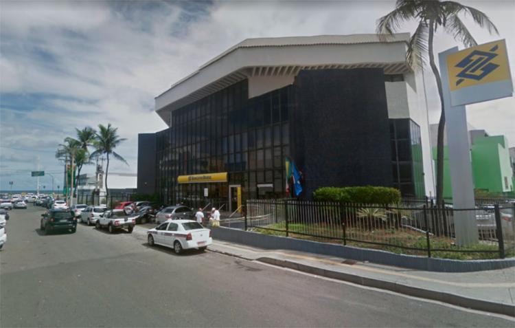 Agência alvo dos bandidos fica na na rua Pará, próxima da Manoel Dias - Foto: Reprodução | Google Maps