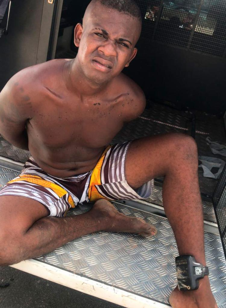 Suspeito foi encontrado na localidade Colinas do Mar - Foto: Divulgação | SSP