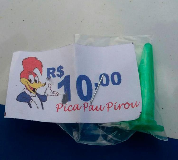 Pino para embalar as drogas era comercializado por Pateta pelo valor de R$ 10