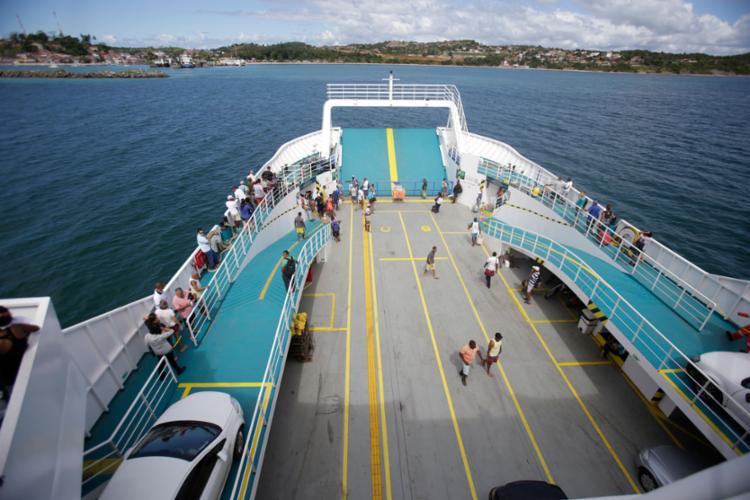 Passageiros não encontram filas em nenhum dos dois terminais - Foto: Raul Spinassé | Ag. A TARDE | 30.08.2017