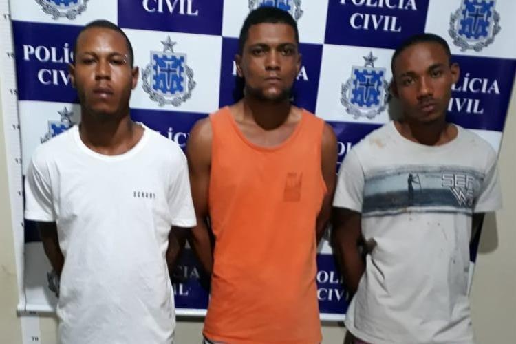 Os suspeitos eram investigados por suposto envolvimento com facção criminosa - Foto: Divulgação | SSP-BA