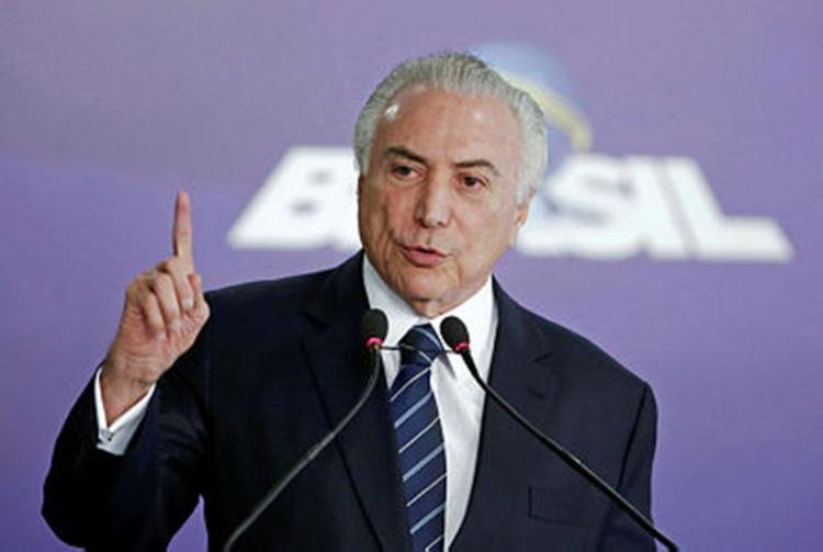 Para o presidente, atuais índices econômicos são aceitáveis - Foto: Sérgio Lima | AFP Photo