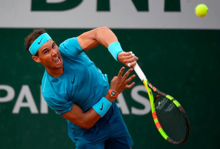 Rafael Nadal vence Guido Pella por 3 sets a 0 - Foto: Eric Feferberg | AFP Photo