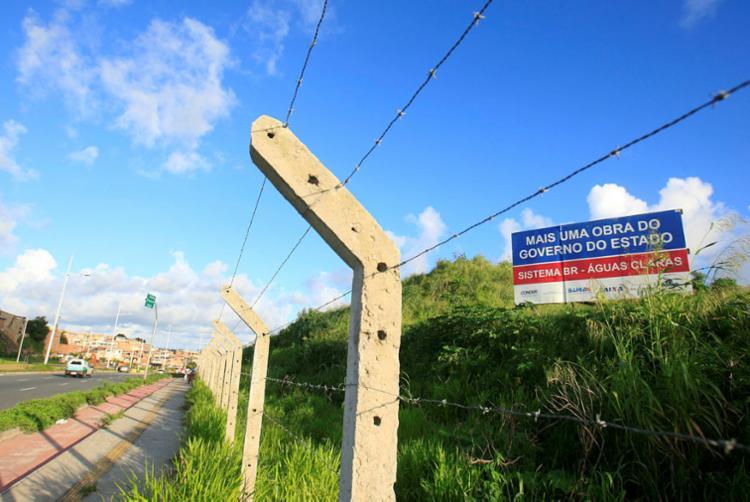 Terreno em Águas Claras onde será construído o complexo - Foto: Alessandra Lori | Ag. A TARDE