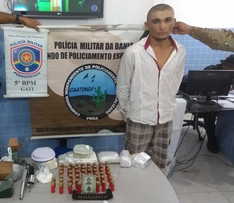 Maciel Leles, 22 anos, estava escondido em Petrolina - Foto: Divulgação   SSP-BA