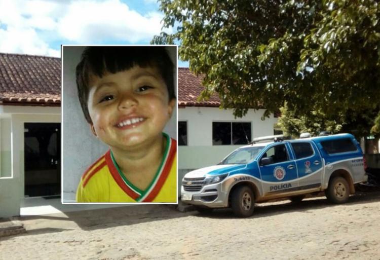 Menino brincava com o irmão de 8 anos no quintal da casa onde morava - Foto: Reprodução l N1Bahia