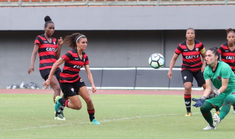 Dono da defesa menos vazada, time rubro-negro assume a liderança se vencer - Foto: Maurícia da Matta | EC Vitória