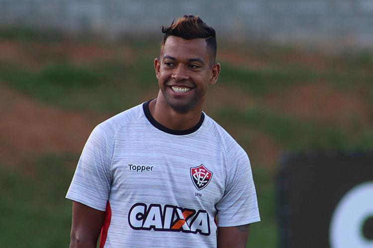 Wallyson é um dos cinco reforços contratados para disputar a Série A - Foto: Maurícia da Matta l EC Vitória