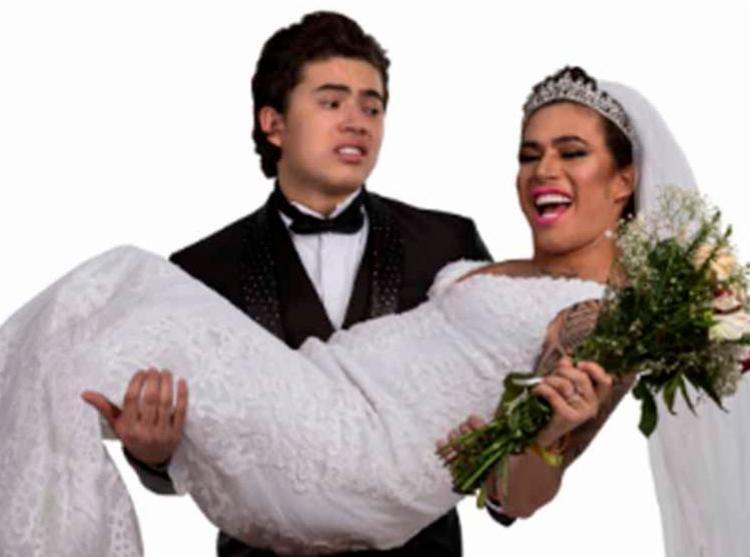 O comediante e youtuber narra a vida de casado no espetáculo - Foto: Divulgação