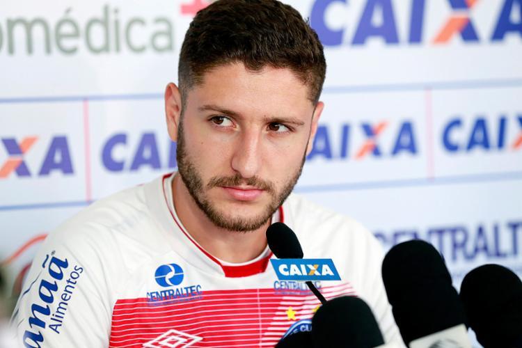 Zé Rafael prometeu concentração total da equipe no Brasileiro - Foto: Felipe Oliveira l EC Bahia
