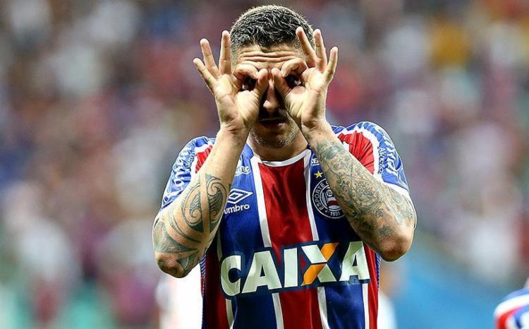 Números ofensivos o meia na temporada 2018 impressionam o Brasil - Foto: Felipe Oliveira l EC Bahia